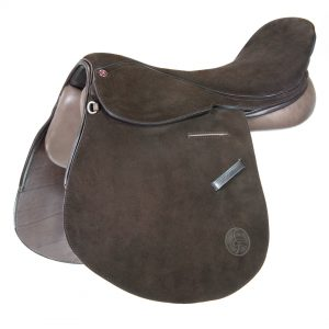 Polo Saddle american style full suede brown/ Montura Polo americano de descarne marrón