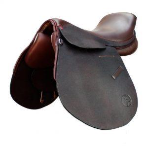 Polo Saddle American style brown/ Montura Polo americano marron