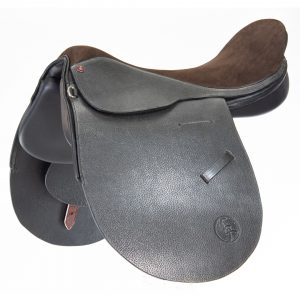 Polo Saddle argentine style suede seat/ Montura Polo argentino de asiento de descarne