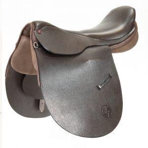 Polo Saddle argentine style brown/ Montura Polo argentino marron
